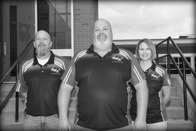Administrators at Haysville Middle School