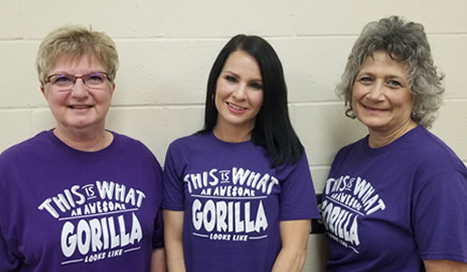 Secretaries at Haysville West Middle School