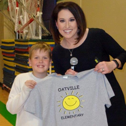 Lisa Teachman Visits Oatville
