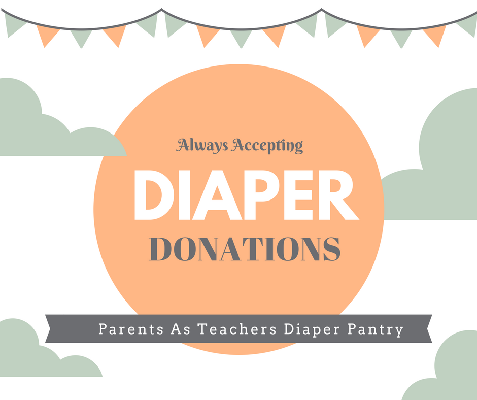 Diaper Donations Accepted