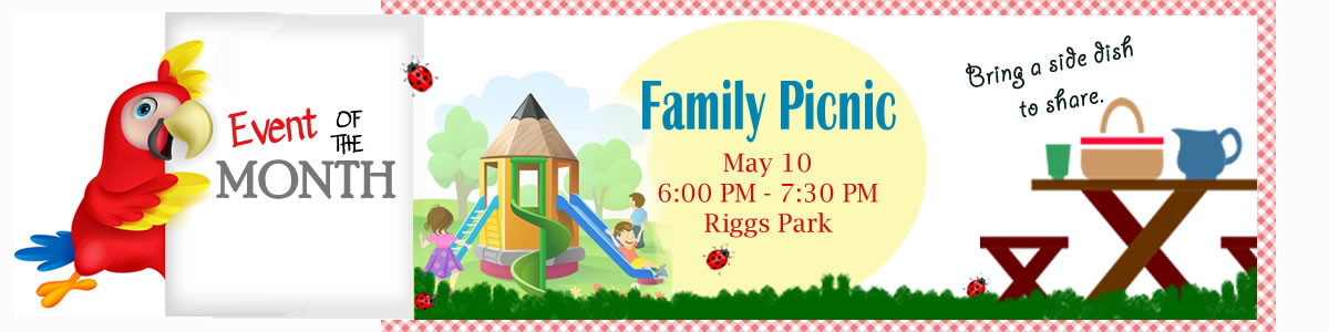 Monthly Event - Family Picnic - May 10