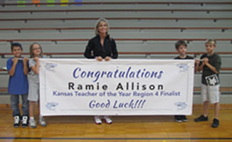 Ramie Allison 2012 Teacher of the Year Finalist