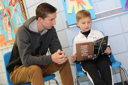 Reading with Tutor Volunteer