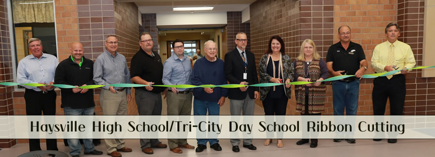 Haysville High School - Tri-City Ribbon Cutting