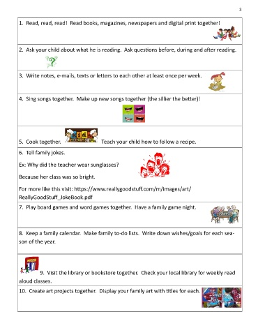 Page 3 - April Family newsletter 2019
